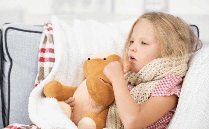 子供の咳が止まらないで長引く!咳止めの方法とは?