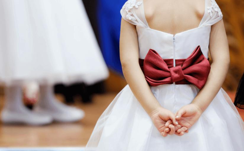 結婚式に子供が出席!ご祝儀や余興はどうする?