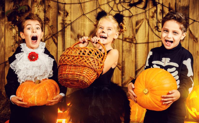 ハロウィン子供の仮装を簡単に手作り!メイク方法もチェック!