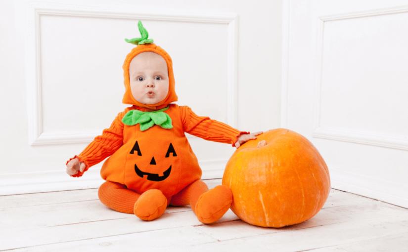 ハロウィンの赤ちゃん仮装を簡単手作り!100均が便利!