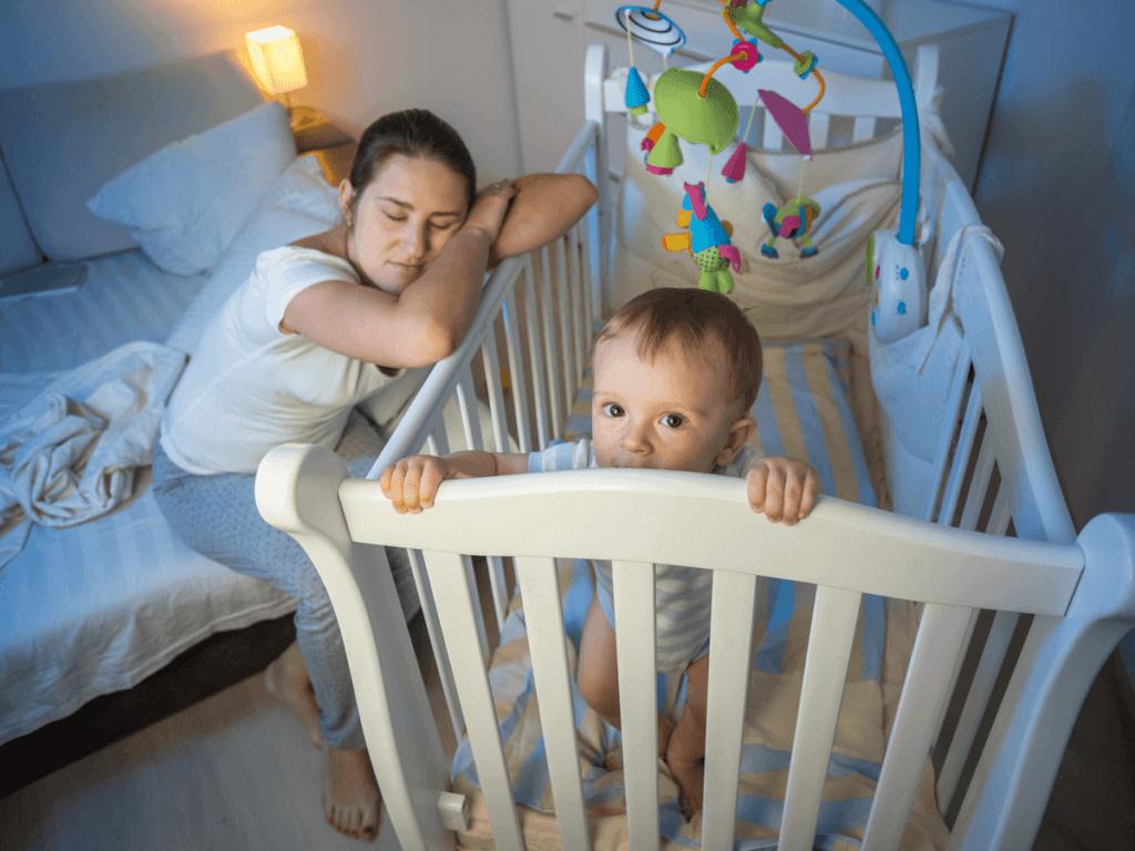 赤ちゃんの寝かしつけは何時から?どうしても寝ないときは?