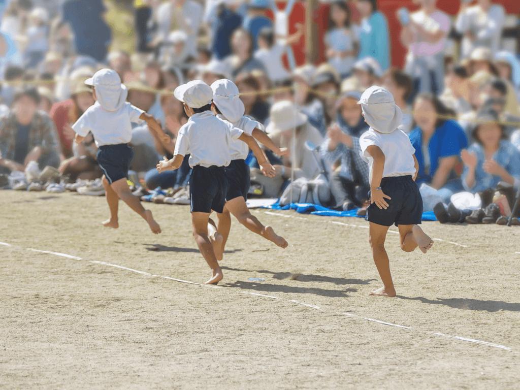 運動会(幼稚園)の親子競技やスローガンは何が人気?