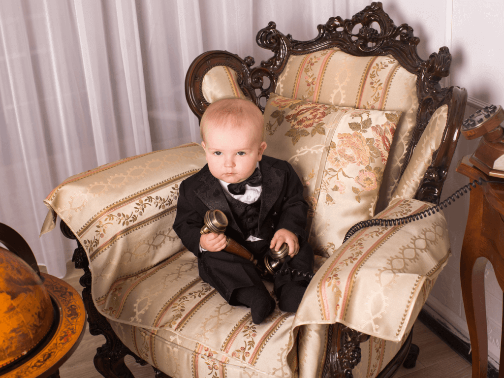 赤ちゃんの結婚式の服装!男の子編!