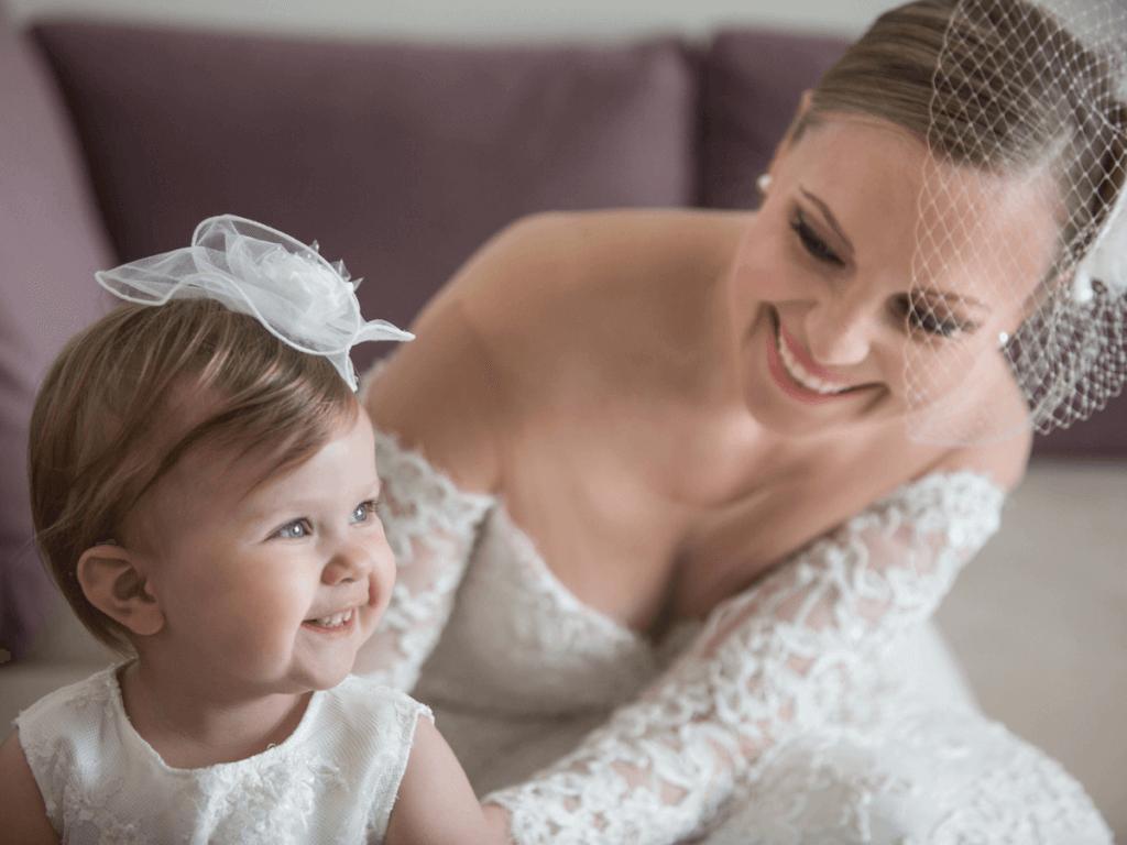 赤ちゃんの結婚式の服装!女の子編!