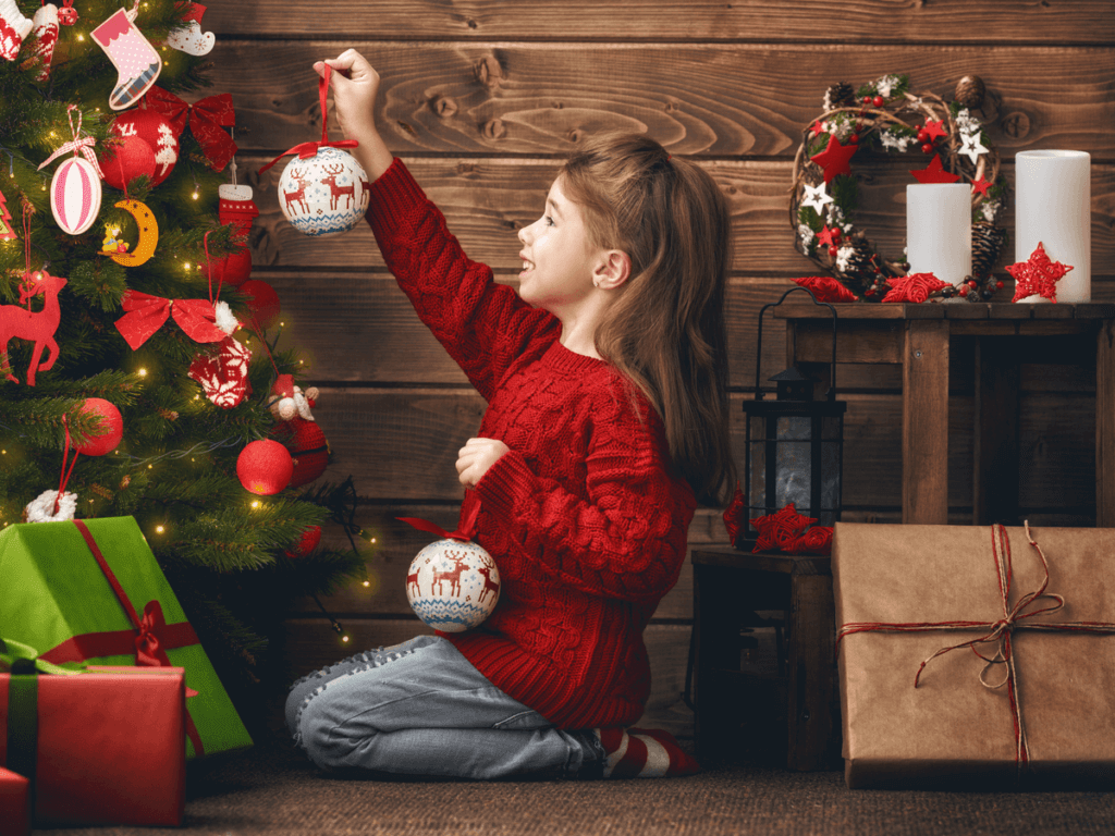 クリスマス飾りを子供と手作りして飾り付けよう!