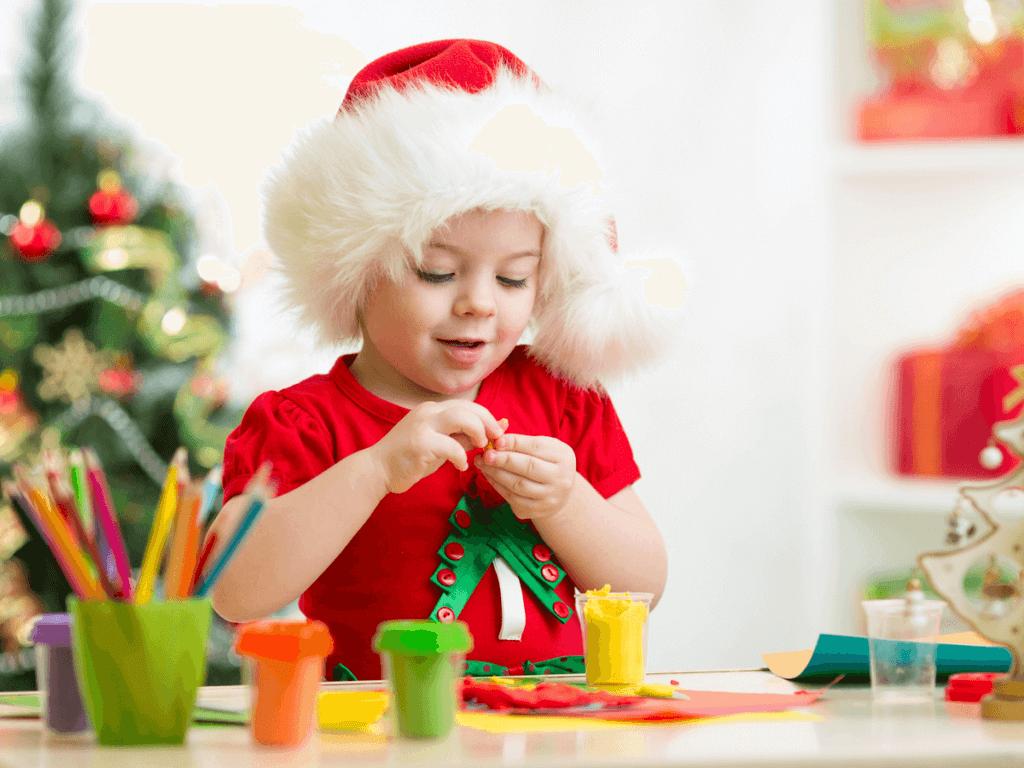 子供も簡単!手作りクリスマスカードの作り方!