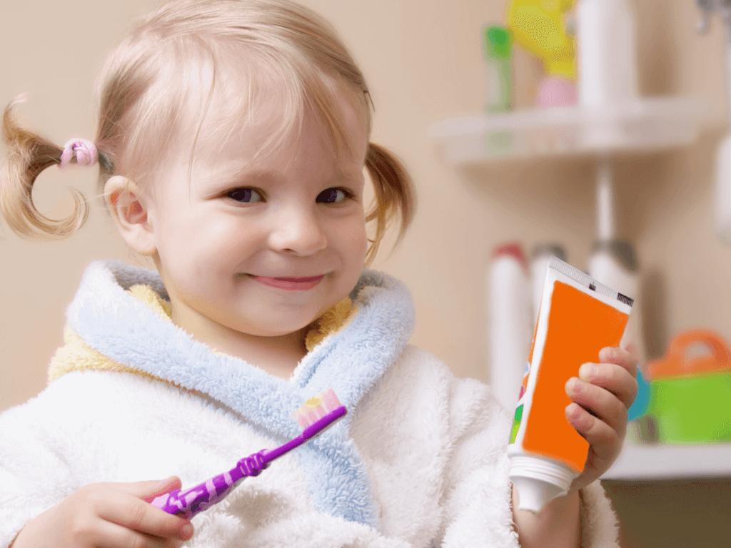 子供に安全な歯磨き粉!フッ素なしの方が良い?