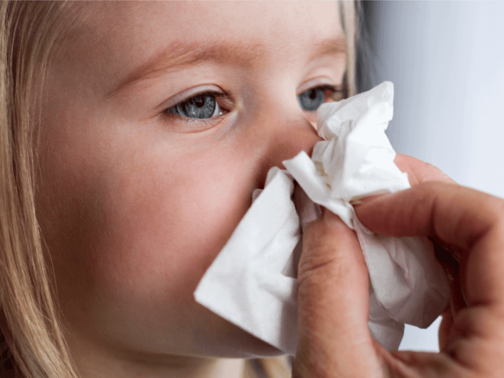 赤ちゃん 鼻血