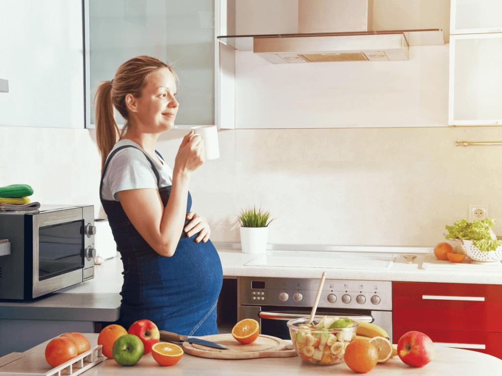 妊娠中 カフェイン
