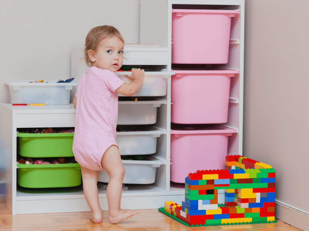 赤ちゃんのおもちゃがすっきり!IKEAや無印、おしゃれ収納アイテム15選や100均便利グッズをご紹介
