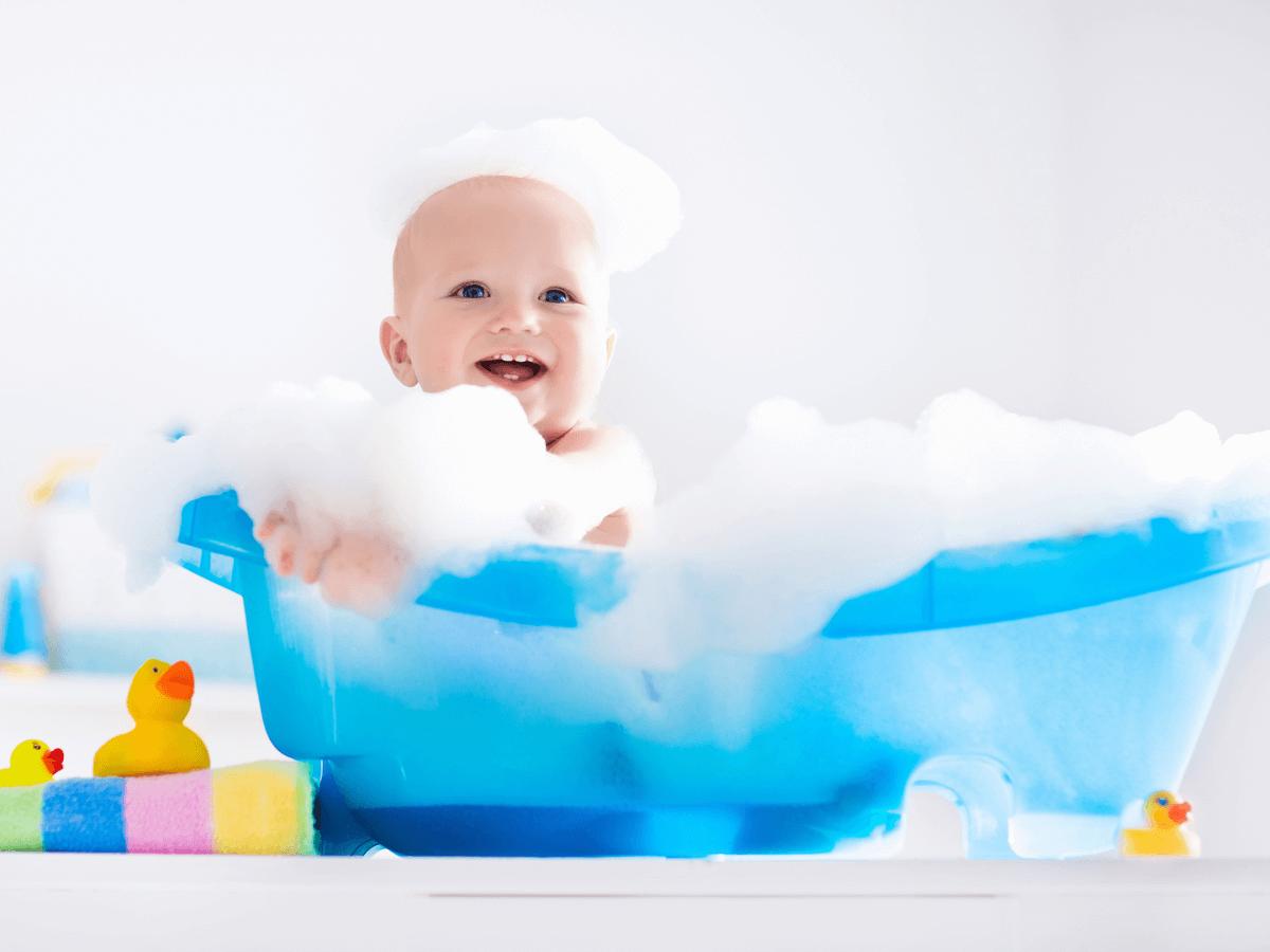 赤ちゃんが沐浴剤を使うメリットとは?