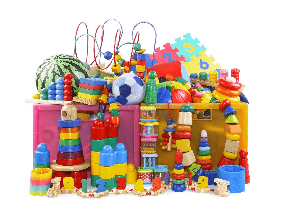 おもちゃ 箱 イラスト