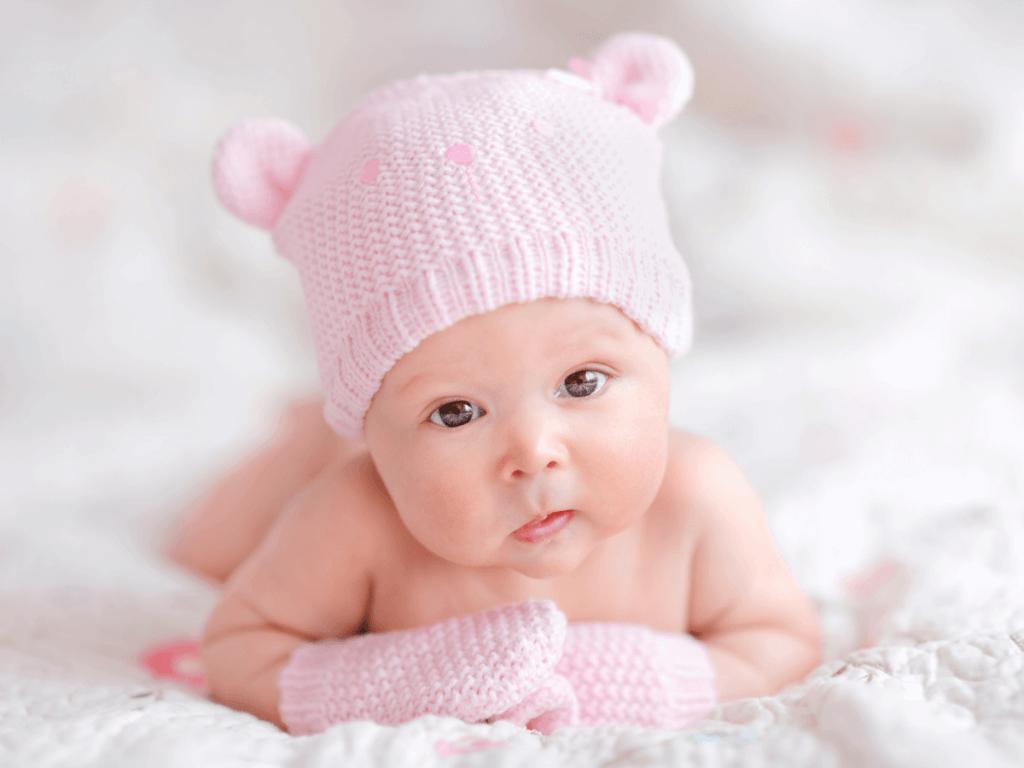 赤ちゃん ミトン