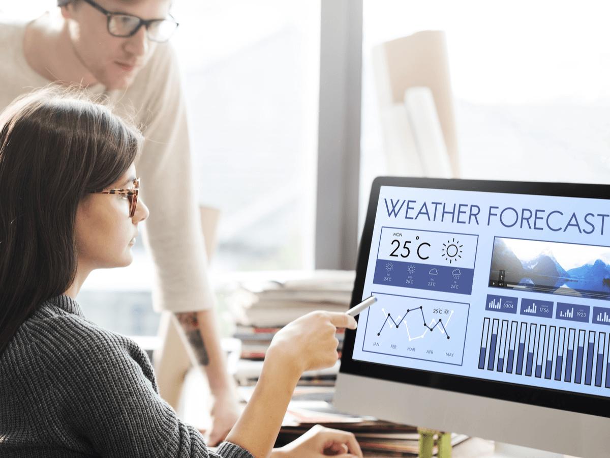 気象予報士の資格試験は難易度が高い?気になる合格率と就職先について
