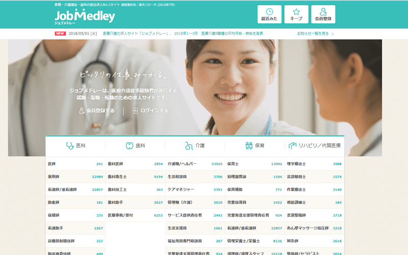 介護士業界で働きたい人へ 21の求人サイトを徹底比較!
